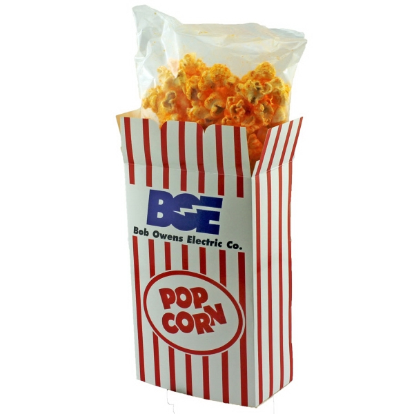 Item #POPCORN-CHEESE Rectangle Box with Cheese Popcorn
