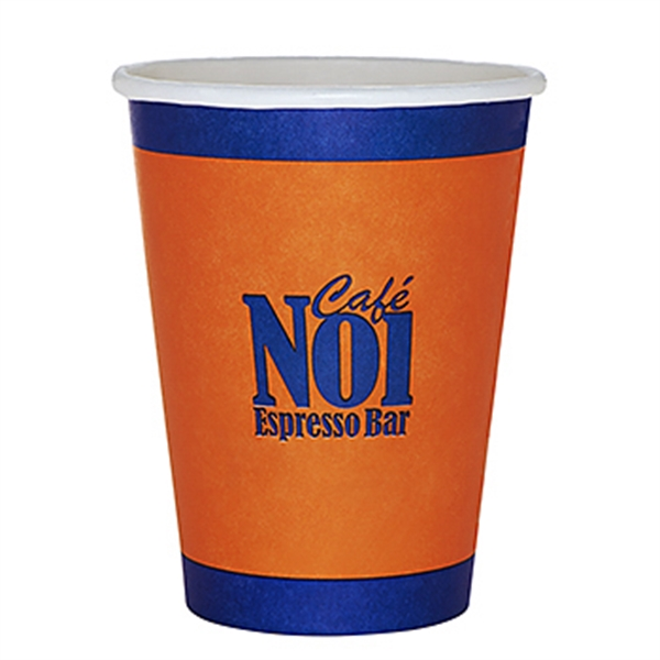 Item #3036-HFX 12 oz Paper Hot Cup - Flexographic Printing