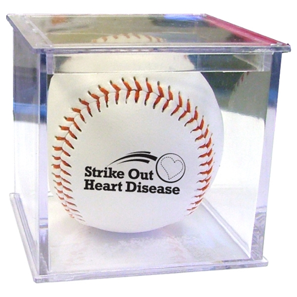 Item #SX932 Baseball Official Size Baseball WIth Case - E932