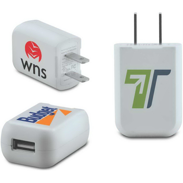 Item #629001 One-Port USB AC Wall Charger - UL Listed