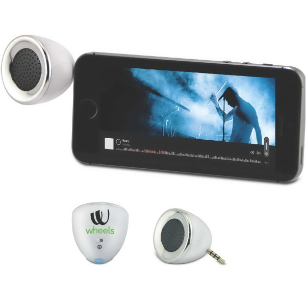 Item #615301 Decibel Plug-In Mini Speaker for Mobile Devices