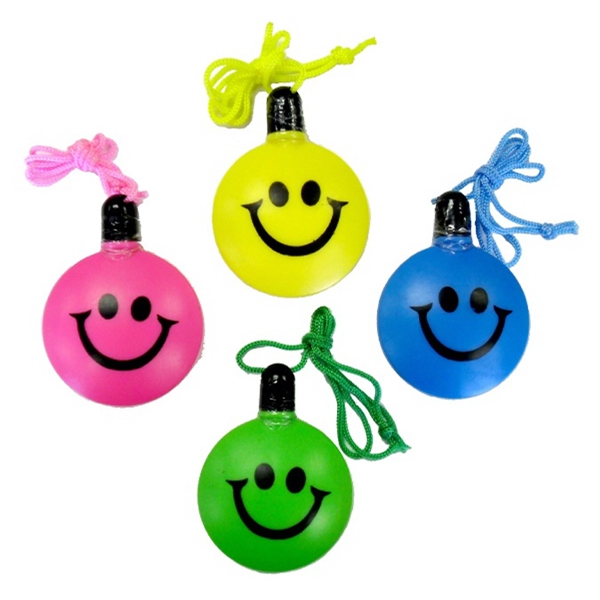 Item #BUBBLE E691 Smile Face Bubble Bottle - E691