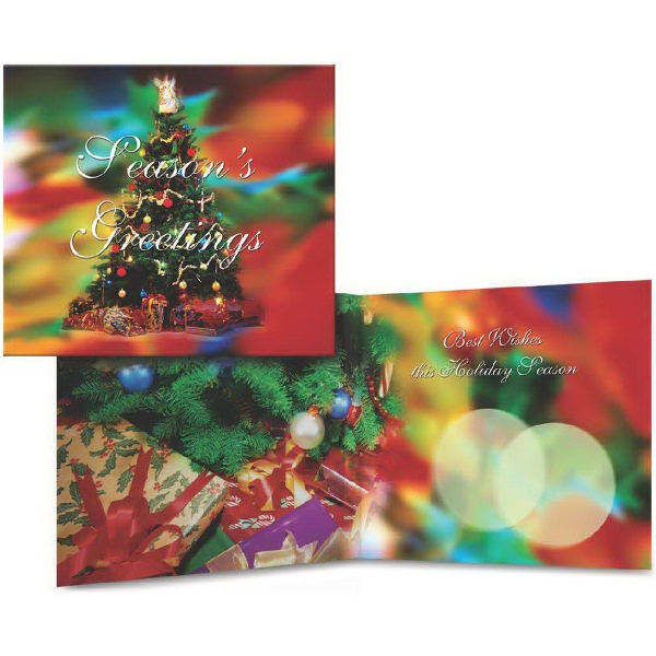 Item #9072 Holiday Musical Card - Season's Greetings