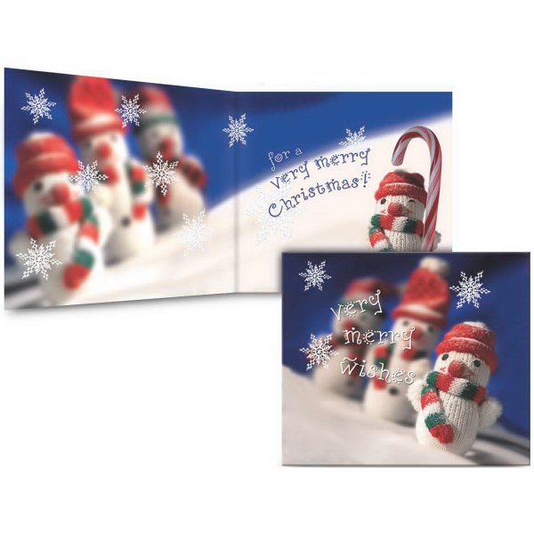 Item #9073 Holiday Musical Card - Very Merry Wishes