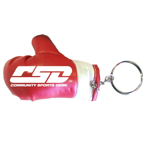 Item #BOXING 630RED Boxing Glove Key Holder - Red - E630
