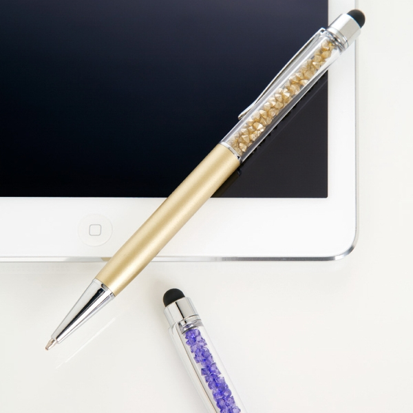 Item #PP-164 Metal Twist Action Ballpoint Stylus Pen
