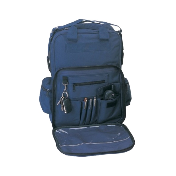 Item #B-8408 Polyester Three Way Backpack Messenger Bag