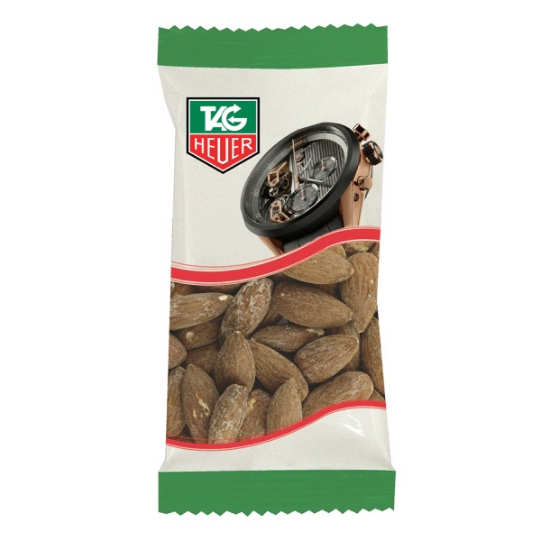 Item #ZS5-ALMOND Zaga Snack Promo Pack Bag Almonds - Nuts