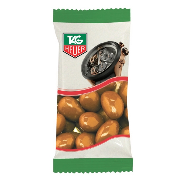 Item #ZS5-ALMONDS Zaga Snack Promo Pack Bag with Chocolate Almonds