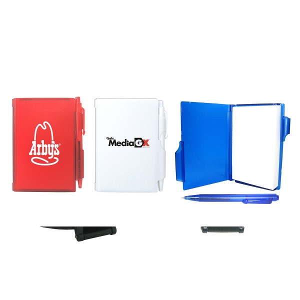 Item #4033 Memo Pad with Pen Lock