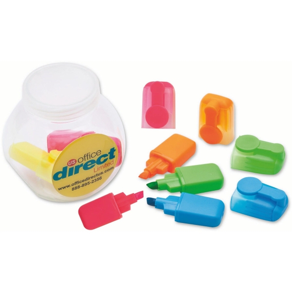 Item #4360 Rainbow Highlighter Jar