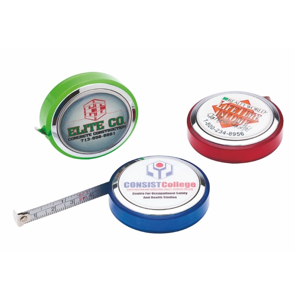 Item #6268 Lisboa 6' Handy Metal Pocket Tape Measure