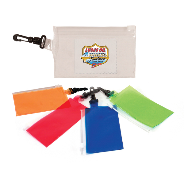 Item #80-06110 Clip 'N Go Bag With Microfiber Cloth, Full Color Digital