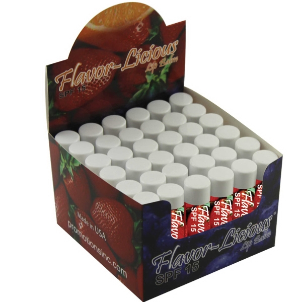 Item #LIP BALM LB0AF Cherries on Top Lip Balm - All Natural USA Made