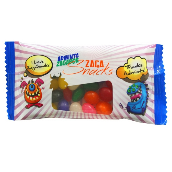 Item #CANDY SPP20JB Small Snack Pack Candy Bag with Jelly Beans
