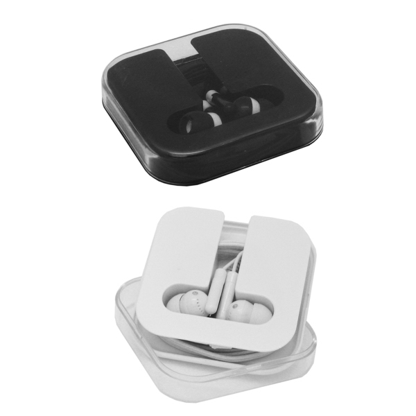Item #7439 Pisa Ear Buds in Case