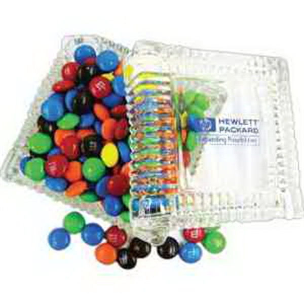 Item #PK-551-JR Glass Candy Dish Filled with Jolly Ranchers
