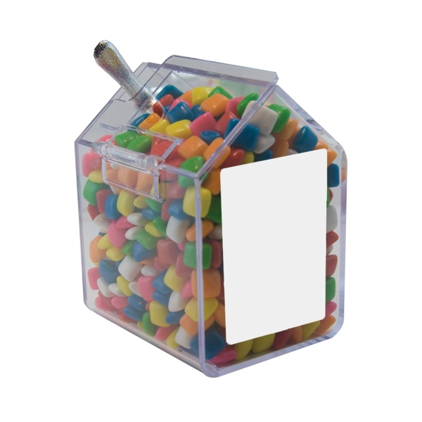 Item #CANDYBIN1-GUM Candy Bin Dispenser with Chicle Chewing Gum