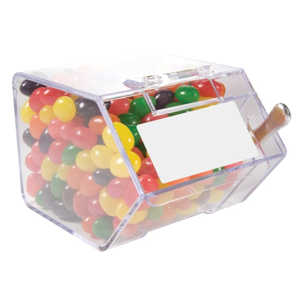Item #CANDYBIN2-JB Large Candy Bin Dispenser with Jelly Beans