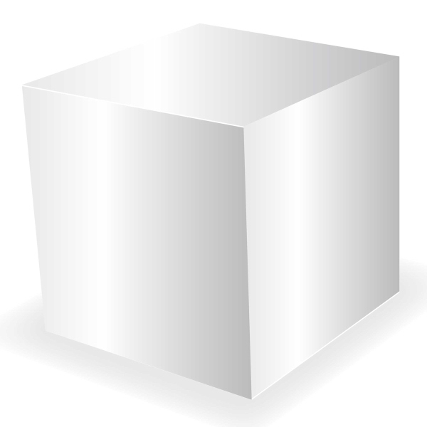 Item #CUBE-BOX Small Cube Box - Custom Packaging and Boxes