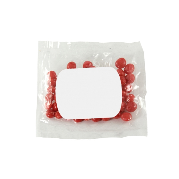 Item #LPP21-RED HOTS Large Promo Candy Pack with Cinnamon Red Hots