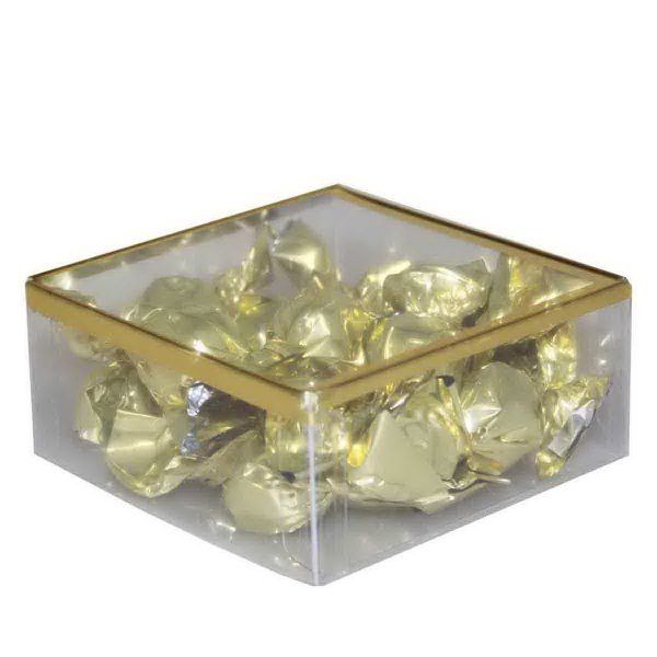 Item #SD-CHOCOLATE Sweet Dreams Plastic Box with Chocolate Truffles