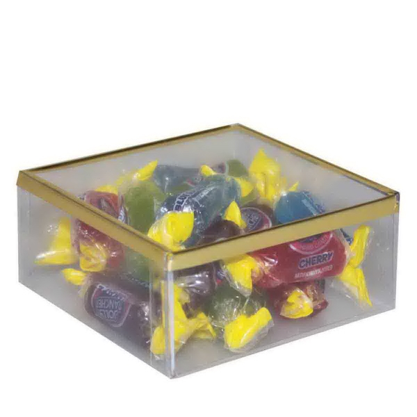Item #SD-JOLLY Sweet Dreams Plastic Box with Jolly Rancher Hard Candy