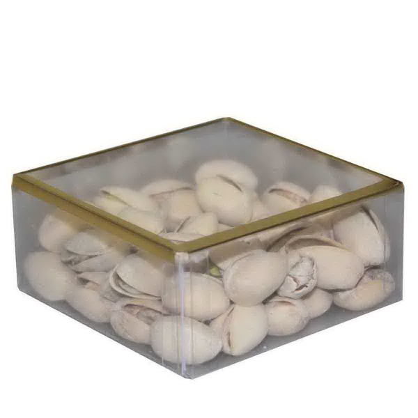 Item #SD-PISTACHIOS Sweet Dreams Plastic Box with Pistachios Nuts