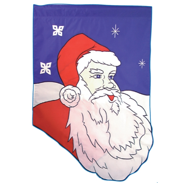 Christmas stock design flag