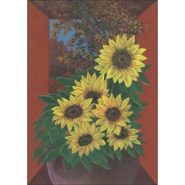 Item #60070 Sunflower Nostalgia