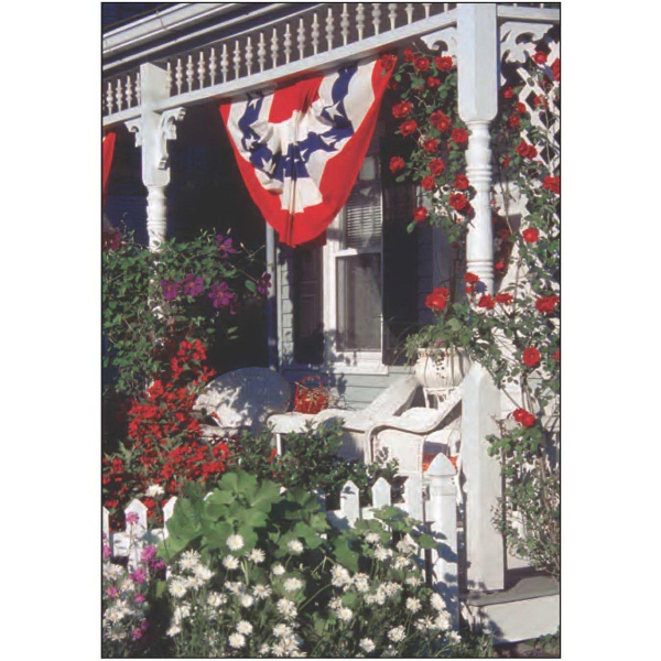 Item #60023 Fourth of July Porch