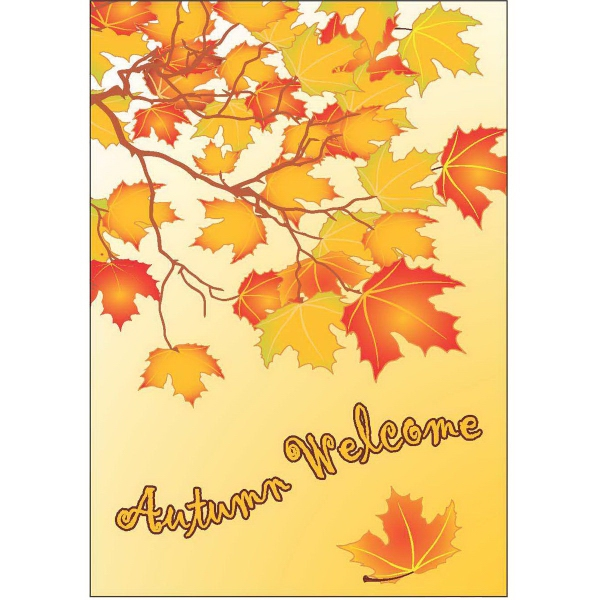 Item #63331 Autumn Welcome