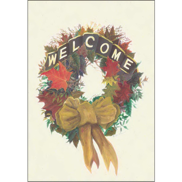Item #67725 Fall Welcome Wreath