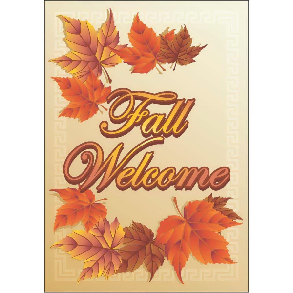 Item #63329 Fall Welcome