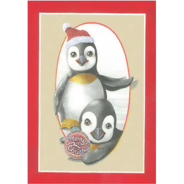 Item #60083/82 Christmas Penguins