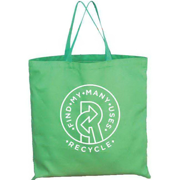 Item #TB155 Flat dimple Nonwoven tote bag