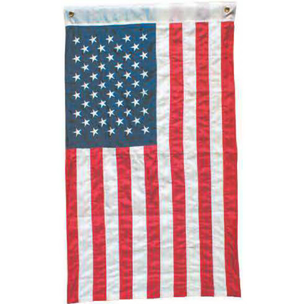 Item #92405 Embroidered USA flag