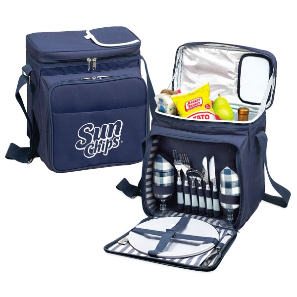 Item #PS811 Somerton 2 Person Picnic Cooler Set