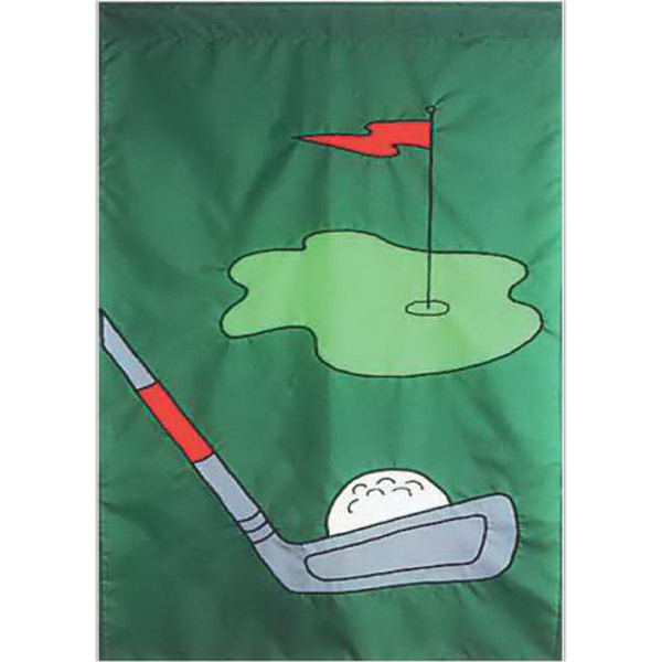 Item #64601 Golf Anyone Theme Event Flag