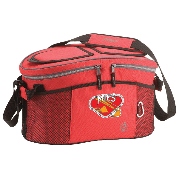 Item #28490 Dual Compartment Picnic Soft Sided Cooler