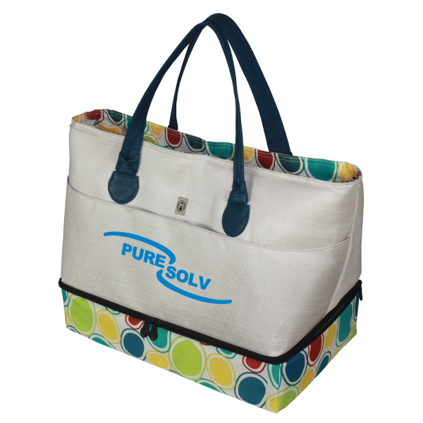 Item #216686 Insulated Dual Compartment Hot/Cold Tote
