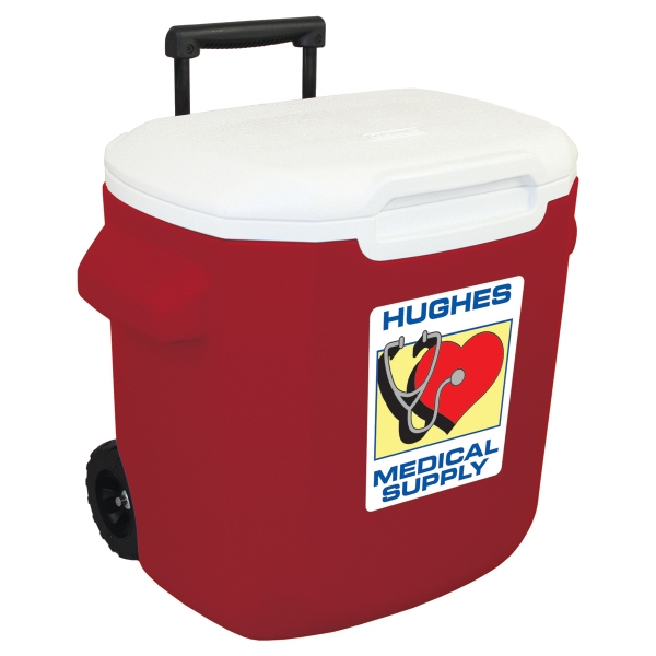 Item #21814 16 Quart (22 Can) Wheeled Cooler