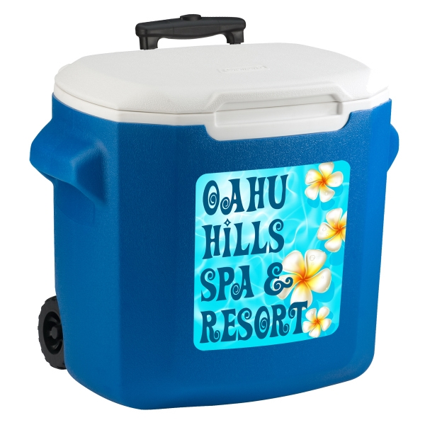 Item #33999 28 Quart (40 Can) Wheeled Cooler