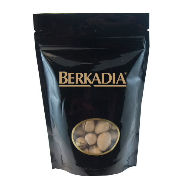 Item #WB1K-NUTS Window Bag with Pistachios Nuts - Black