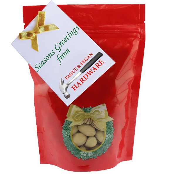 Item #WB2HW-NUTS Large Window Bag with Pistachio