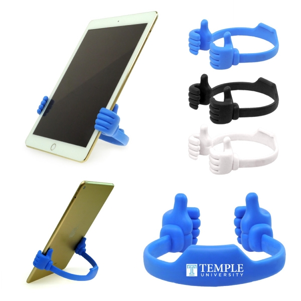 Item #DW-1016 Universal Thumbs Up Smartphone Tablet Stand