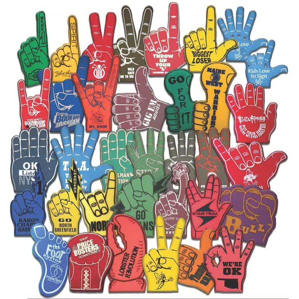 "Item #MS124 16"" Foam hand"