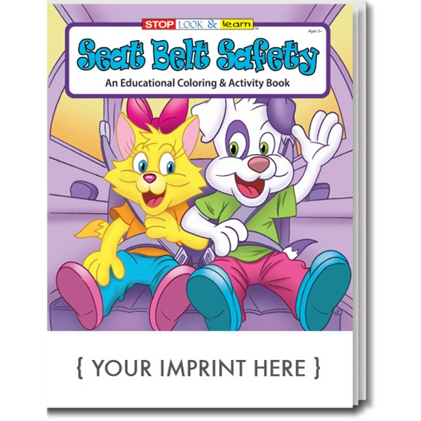 Item #0224 Seat Belt Safety Coloring Book