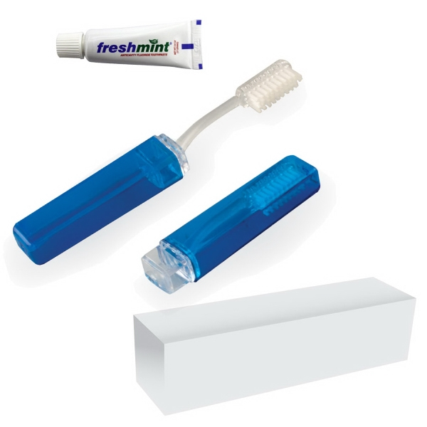Item #TOOTH-KIT Travel Dental Kit With Toothbrush And Tootpaste