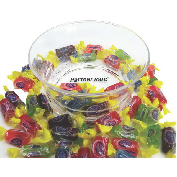 Item #PK-665-CKSS Acrylic Candy Dish with Hershey's Chocolate Kissed (R)